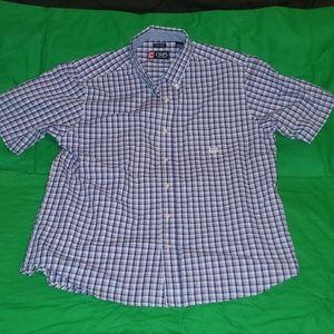 Chaps Button Down Shirt Size XL